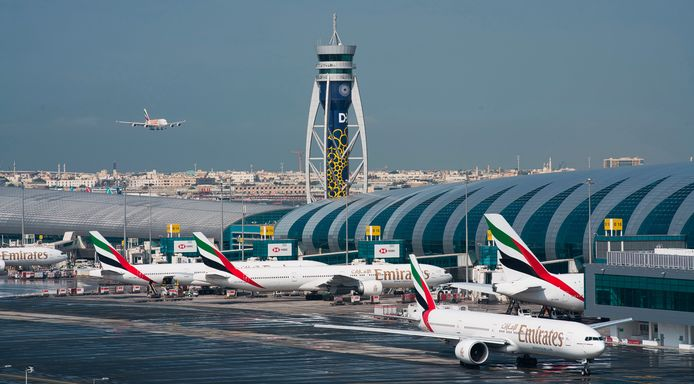 """L'aéroport de Dubaï, dont le sigle est DXB, a confirmé un """"incident mineur"""" qui s'est déroulé """"aux premières heures de ce matin, jeudi 22 juillet"""" et qui a nécessité la fermeture """"temporaire"""" d'une piste (archives)."""
