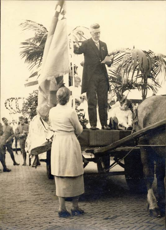 Feest in Alphen, 1938.