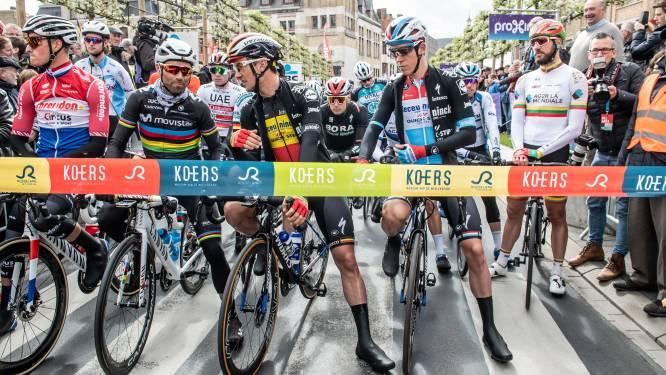 """Dwars door Vlaanderen start eenmalig op Schiervelde, want organisatie wil drukte vermijden: """"Volg wedstrijd dit jaar op televisie"""""""