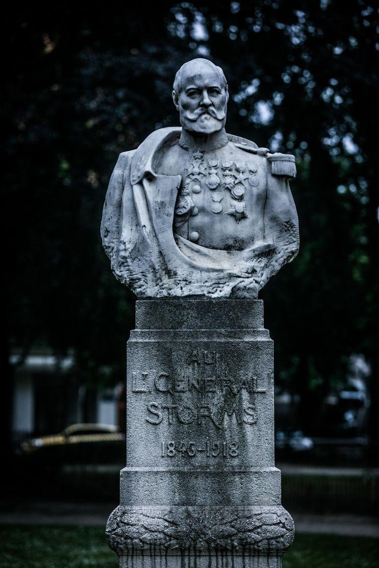 Generaal Emile Storms. Beeld Bas Bogaerts