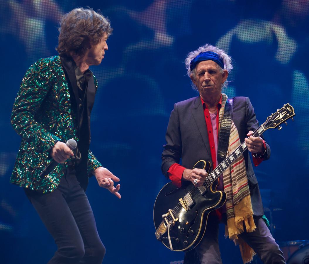 Mick Jagger en Keith Richards