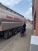 Vrachtverkeer in de Hertoginstraat