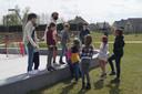 De bubbels bestonden telkens uit 7 à 10 kinderen.