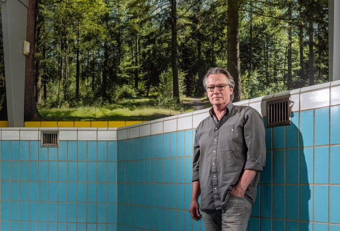 René Zweers, eigenaar van camping de Wildhoeve in Emst, ziet het komende toeristenseizoen met vertrouwen tegemoet.