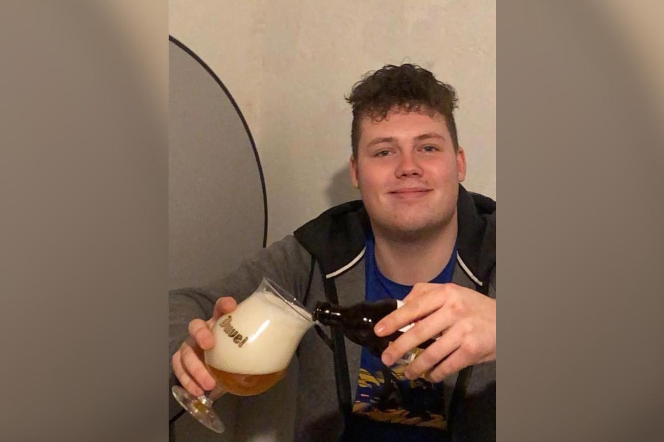 Elkin Koole hield wel van een biertje.
