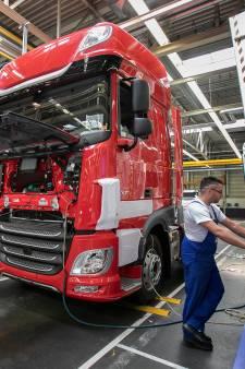 DAF staakt productie in Eindhoven voorlopig tot 6 april