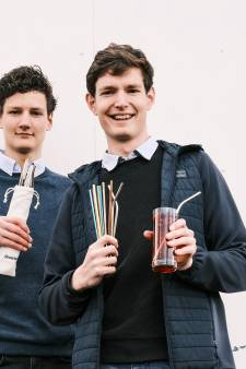 Amersfoortse broers brachten metalen rietjes voor in je drankje naar Nederland