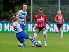 Vrouwen PEC Zwolle scoren voorlopig alleen nog op papier met jongste team ooit