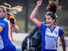 Hockeysters Zwolle slagen er bijna in om een 4-0 voorsprong te verprutsen