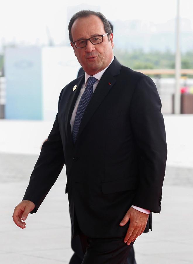 François Hollande, le président français.