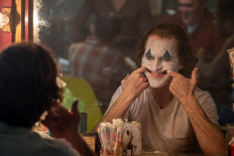 Joaquin Phoenix, fenomenaal als Joker. Beeld