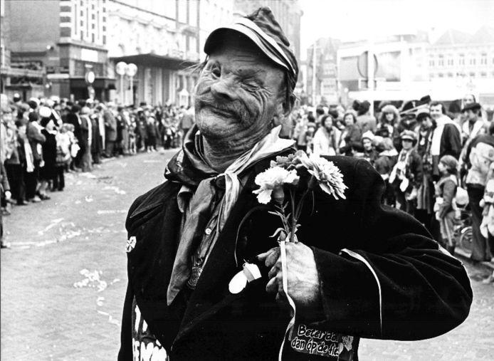 Janus 'Kiep' Borghs tijdens een carnavalsoptocht.