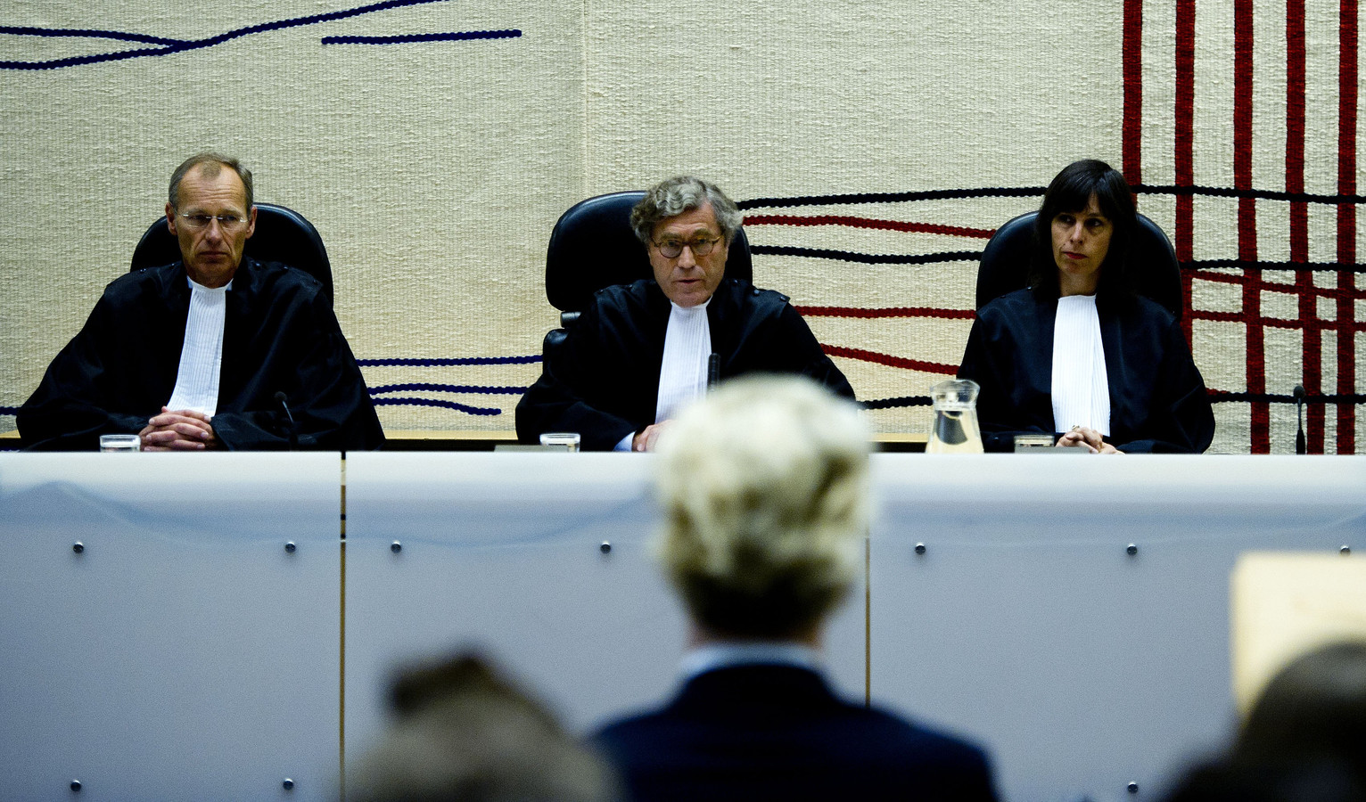 De rechters.