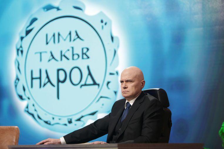 Slavi Trifonov in november 2020. Beeld AP