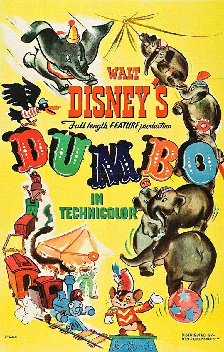 Disney's Dumbo, affiche uit 1941. Beeld RV