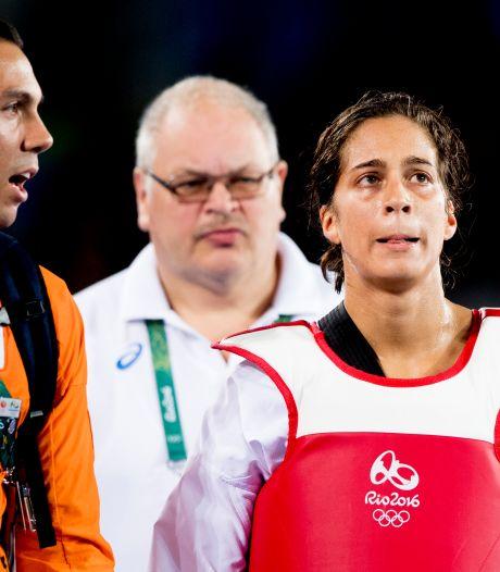 'De pijn van Reshmie Oogink staat symbool voor een onherstelbaar beschadigde Olympische Spelen'