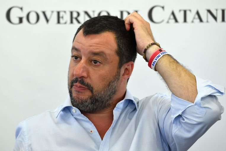 Matteo Salvini. Beeld AFP
