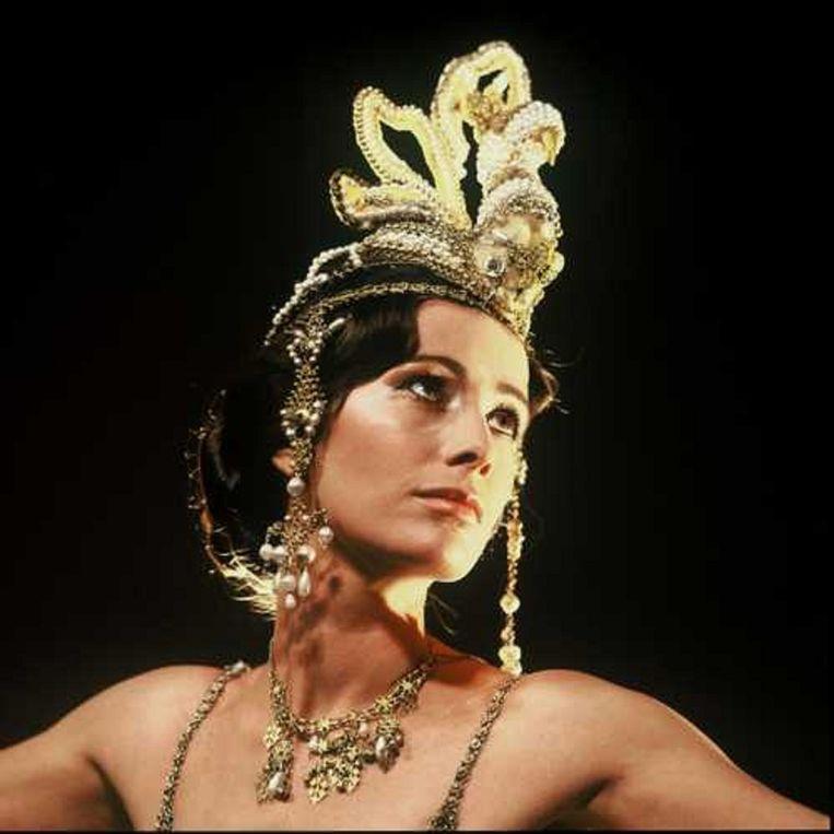 Josine van Dalsum in de tv-serie uit 1980. Beeld