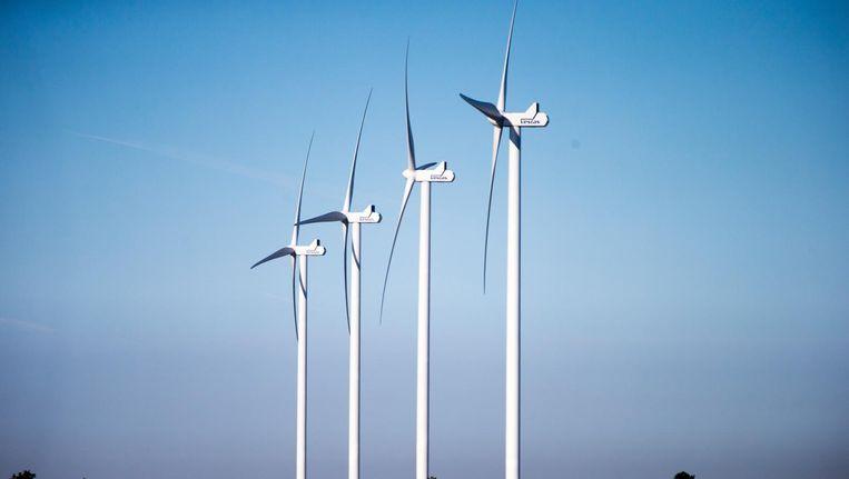Windmolens bij Medemblik. Beeld anp