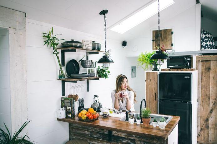 Een van de tips: haal planten in huis.