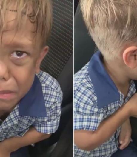 Radeloze moeder filmt gepest zoontje (9) en gaat wereld over: 'Ik zie geen uitweg meer'