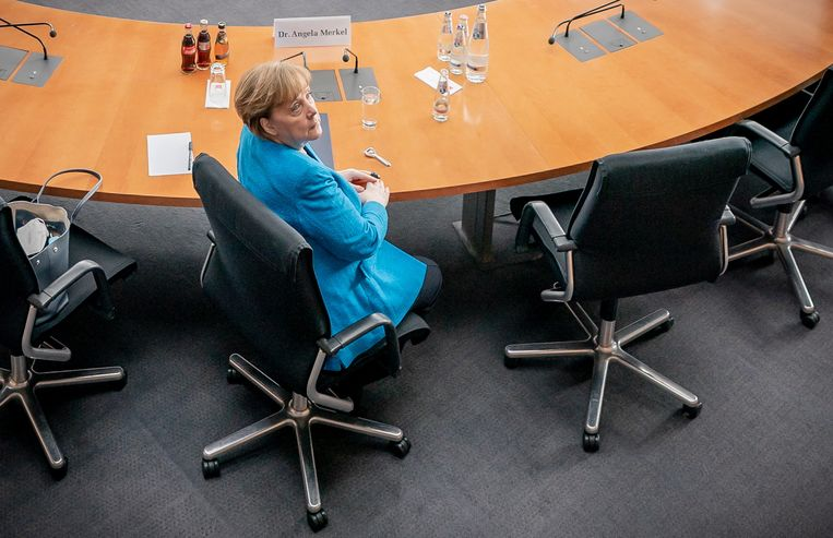 Angela Merkel.  Beeld EPA