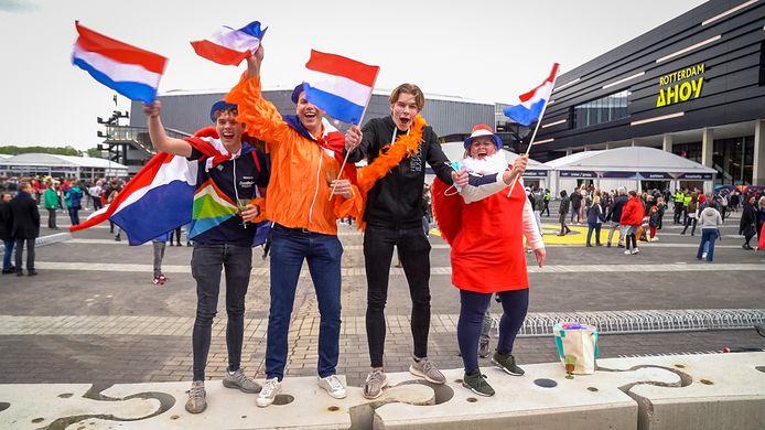 De familie Koot gaat juichen voor Nederland.