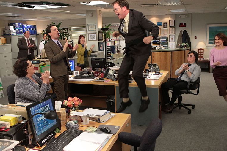 THE OFFICE Beeld NBCU Photo Bank/NBCUniversal via