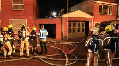 Uitslaande brand in leegstaand magazijn