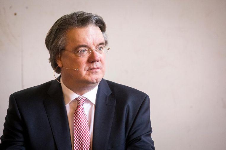 Commissaris van de koning van Noord Brabant Wim van de Donk deed aangifte. Beeld anp