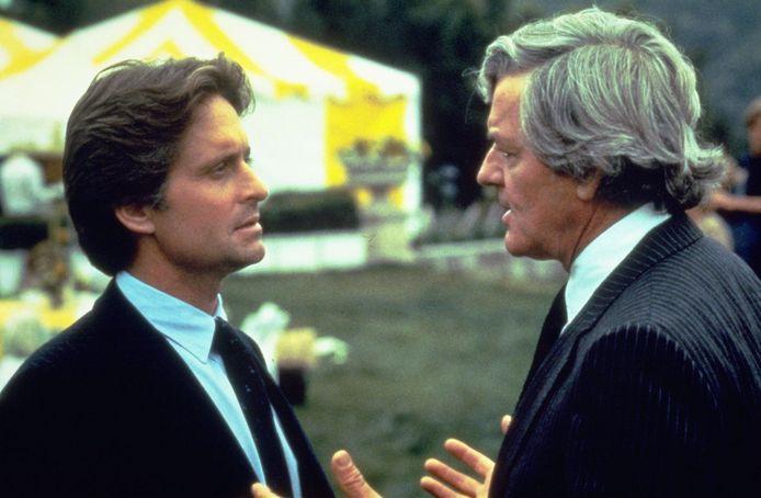 Michael Douglas en Hal Holbrook.