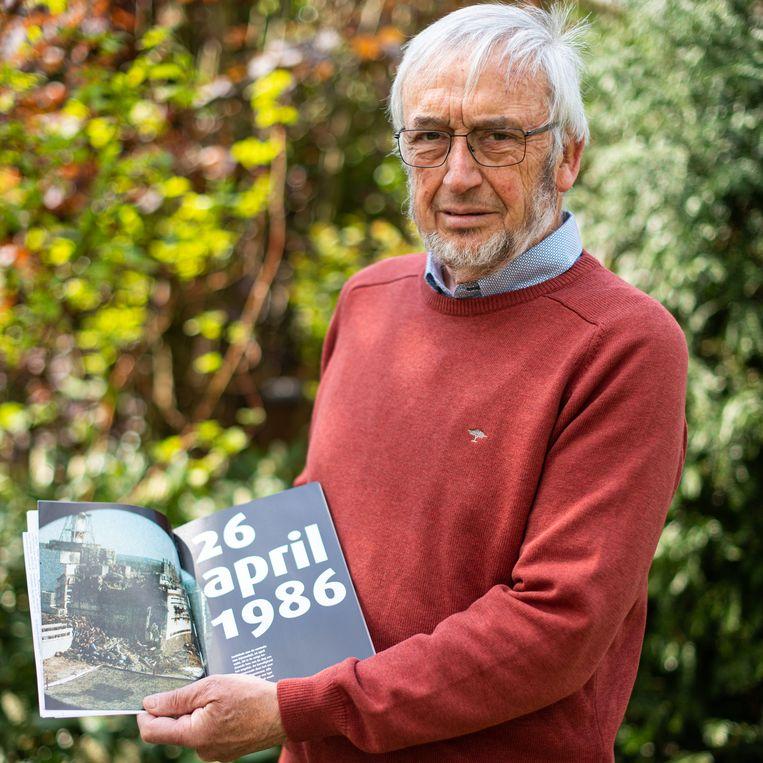 Nucleair expert Gilbert Eggermont. Beeld Wouter Maeckelberghe