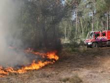 Kans op natuurbrand neemt toe door het warme weer: 'Wees extra alert'