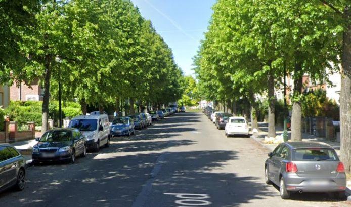 L'avenue Gounod à Anderlecht.