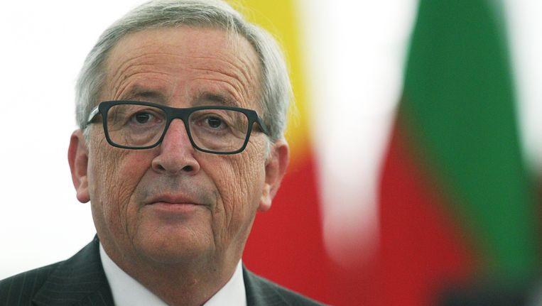 Jean-Claude Juncker, baas Europese Commissie. Beeld Elyxandro Cegarra / Demotix