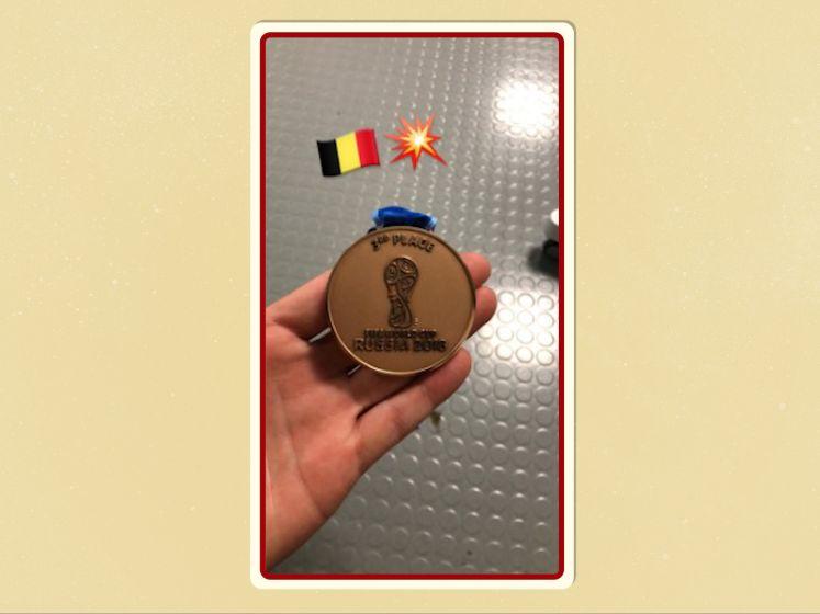 WK Bytes: Eerste WK medaille ooit voor België