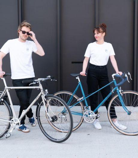 """Antwerpenaren starten duurzaam fietsmerk 'Erts Cycles': """"Door het frame te hergebruiken verkleinen we de ecologische voetafdruk"""""""