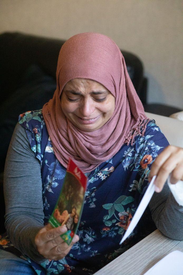 Shreen Issa heeft sinds 1 augustus 2020 haar kinderen enkel nog op foto's gezien.