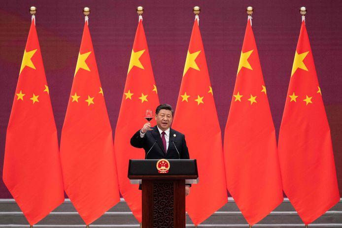 De Chinese leider, Xi Jinping.