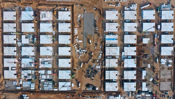 China richt in sneltempo gigantisch quarantainecentrum op na heropflakkering corona