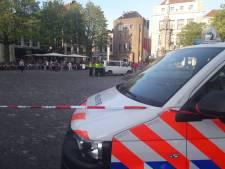 Volle terrassen getuige van politieoefening op Deventer Brink
