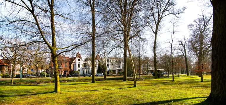 Het Wilhelminapark in Oegstgeest. Beeld Hollandse Hoogte /  ANP