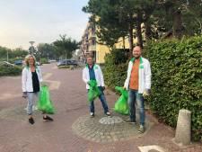 D66 en CDA ruimen zwerfvuil op in Naaldwijk en 's-Gravenzande: 'Het komt niet van de kaboutertjes'