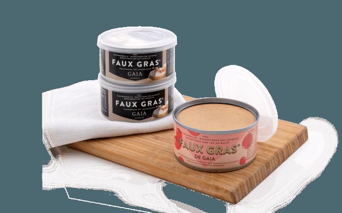 Après 10 ans d'existence, le Faux Gras® de GAIA est désormais disponible avec une nouvelle saveur de canneberge. Un parfum gourmand, fruité et sain pour s'ouvrir l'appétit en vue des grandes tablées. Prix: 3,69 euros. Disponible dans la magasins Colruyt.