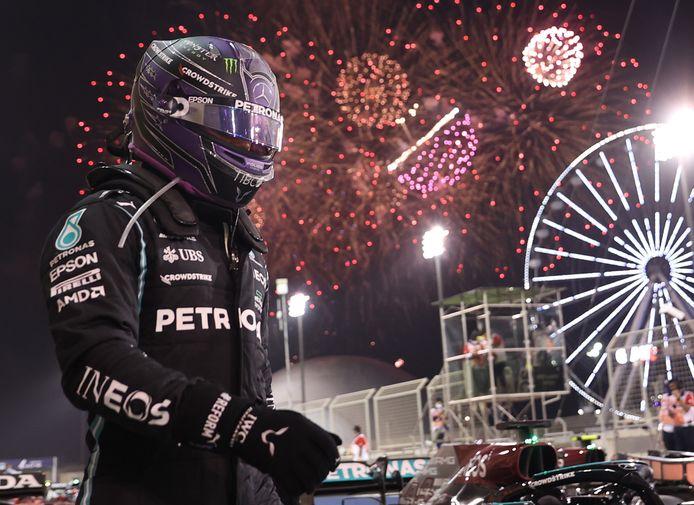 Letterlijk en figuurlijk veel vuurwerk bij de Grand Prix van Bahrein.