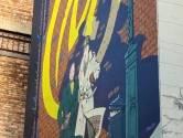 La fresque de Blake & Mortimer fait son retour dans le quartier des Marolles