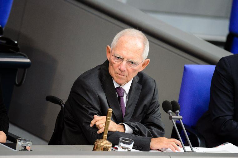 Wolfgang Schäuble. Beeld epa