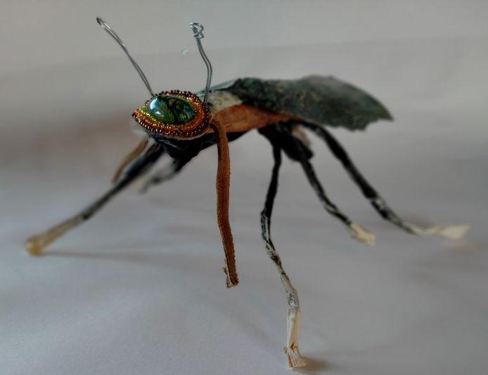 'Vliegbeest' van Els van Egeraat zal te zien zijn op de expo Bruut Natuur