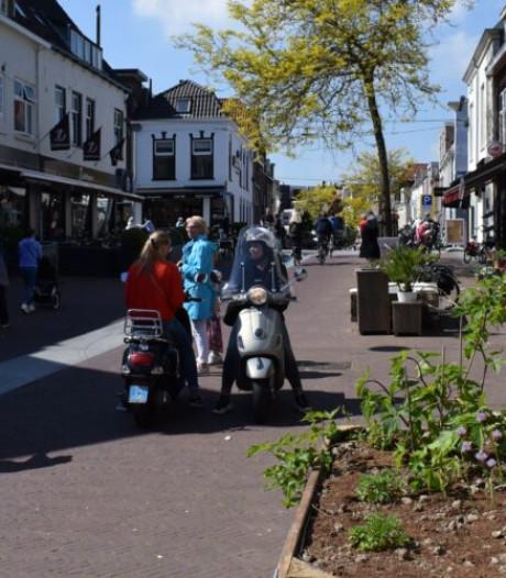 Kruiden plukken in de Rijnstraat