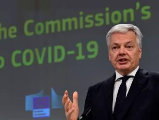 """Eurocommissaris Didier Reynders: """"Vanaf eind juni met 'coronapas' op reis"""""""